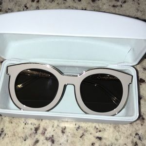 Karen Walker Super Spaceship sunglasses